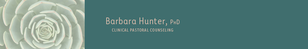 Barbara Hunter, PhD, Clinical Pastoral Counseling